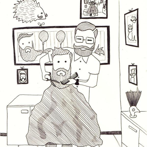 BASSA 4 Illustraz penna Barber show M. Ciseaux